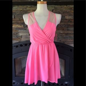 Betsey Johnson Pink Ballerina Slip Nightie Pajamas